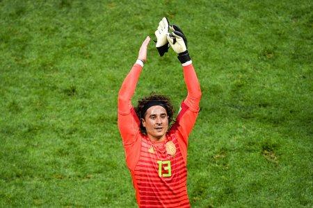 Goalkeeper Guillermo Ochoa of Mexico