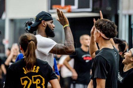 NBA star LeBron James top