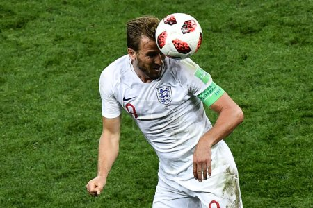 Harry Kane of England strives