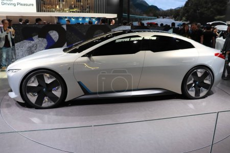 Photo for A BMW iVision Dynamics concept car is on display during the 15th Beijing International Automotive Exhibition, also known as Auto China 2018, in Beijing, China, 27 April 2018 - Royalty Free Image