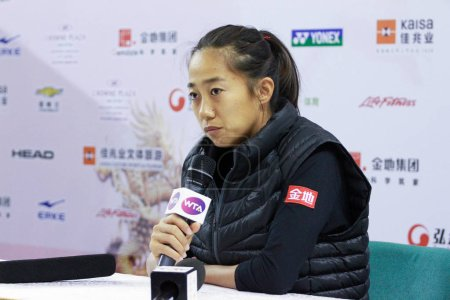 Zhang Shuai of China attends