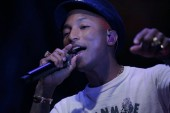 American rapper singer Pharrell Williams performs during the opening event of Chanel's Mademoiselle Prive exhibition in Hong Kong, China, 11 January 2018.
