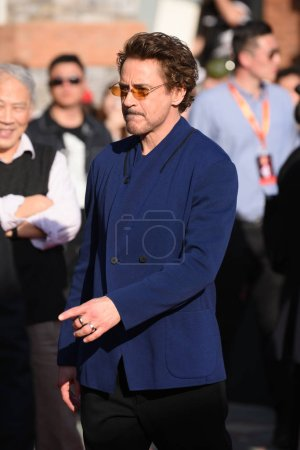 American actor and singer Robert