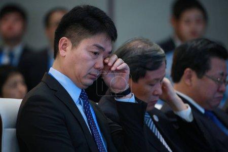 Richard Liu Qiangdong, Chairman and CEO of online ...