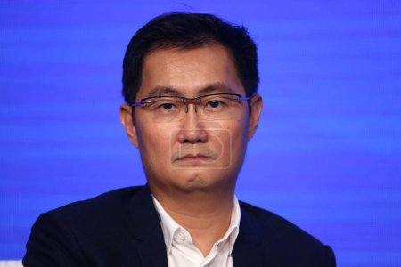 Pony Ma Huateng, Chairman and CEO of Tencent Holdi...