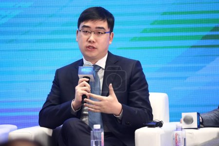 Chen Wei, co-founder and CEO of Chinese taxi-haili...