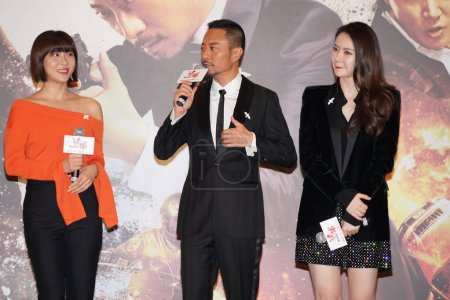 From left South Korean actress