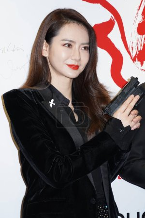 Chinese actress and singer Qi