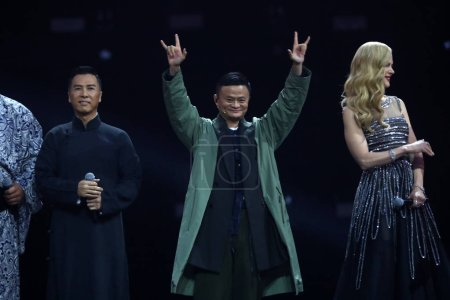 From left Hong Kong actor