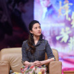 Chinese actress Liu Yifei attends a promotional ev...