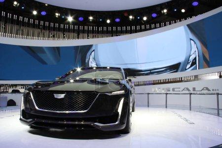 A Cadillac Escala Concept car