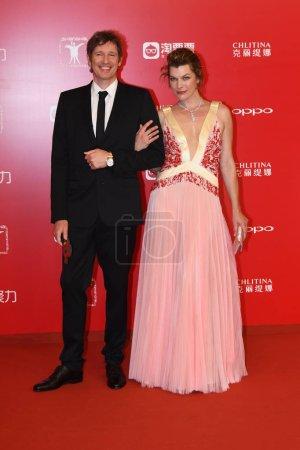 American actress Milla Jovovich right
