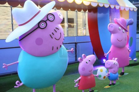 View of the Peppa Pig