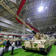 China's PLZ52 155 mm self-propelled howitzer is on...