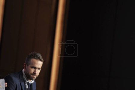 CanadianAmerican actor Ryan Reynolds attends