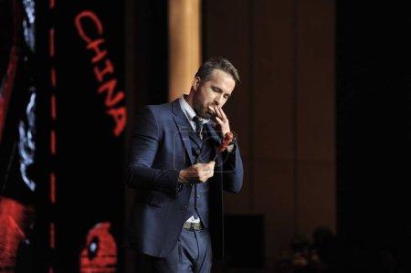 CanadianAmerican actor Ryan Reynolds tastes