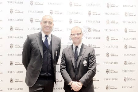 French football star David Trezeguet