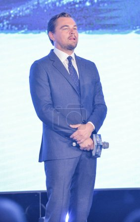 American actor Leonardo DiCaprio attends