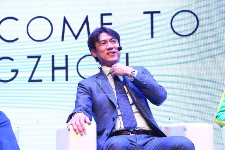South Korean football coach and manager Hong Myung...