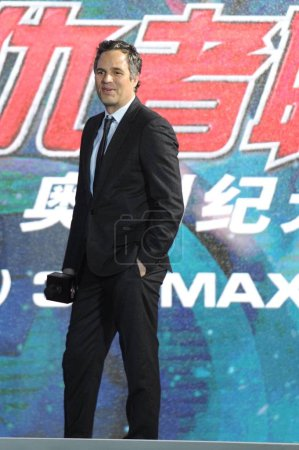 American actor Mark Ruffolo poses