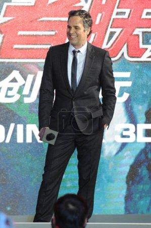 American actor Mark Ruffolo smiles