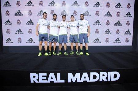 From left Gareth Bale Alvaro