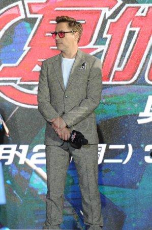 American actor Robert Downey Jr