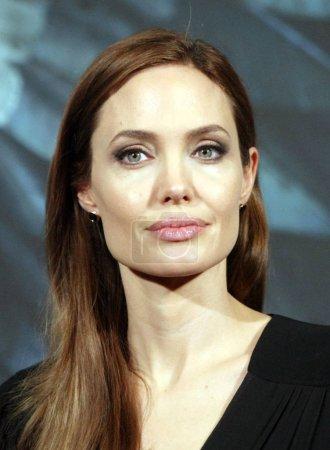 Американская актриса Анджелина Джоли посетила