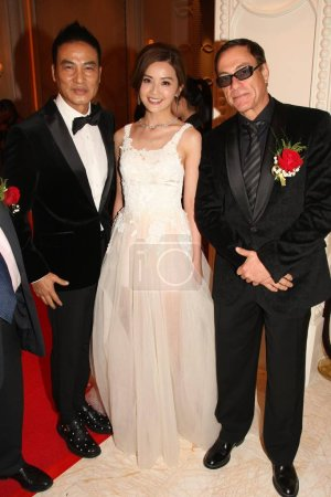 From left Hong Kong actor