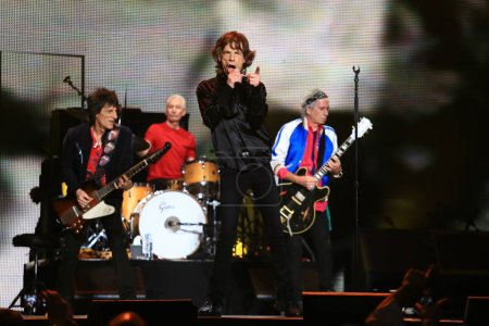 Mick Jagger front and other