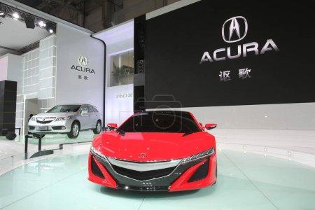A premium car is displayed
