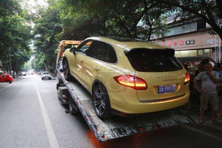 The Porsche Cayenne SUV is