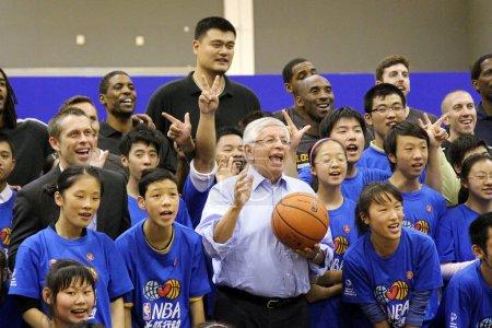 Retired Chinese basketball superstar Yao