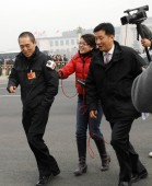 Chinese film director Zhang Yimou arrives as a delegate for the opening session of the Third Session of the CPPCC (Chinese Peoples Political Consultative Conference) in Beijing, China, March 3, 2010
