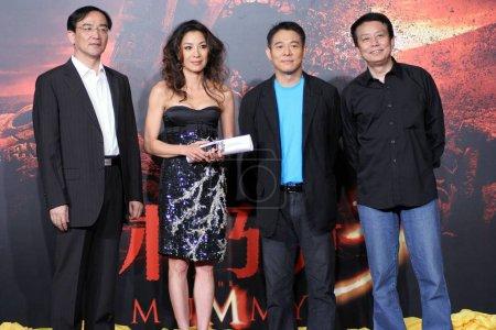 From leftRen Zhonglun President of