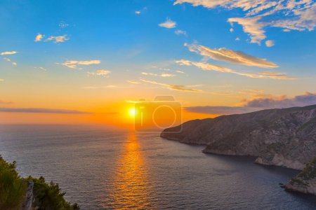 Photo for Sunset on the sea - Royalty Free Image