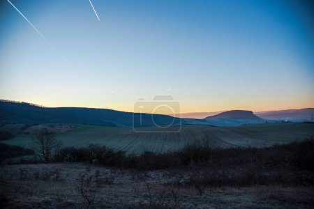 Photo for Sunset in the mountains - Royalty Free Image