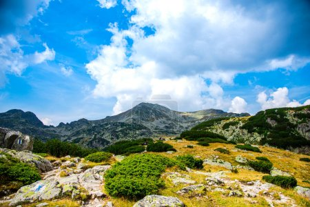 Photo for Mountain landscape with blue sky - Royalty Free Image