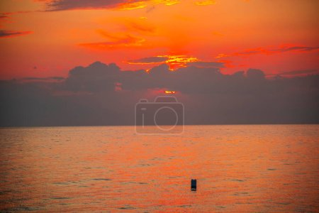 Photo for Clouds at the sea sunset - Royalty Free Image