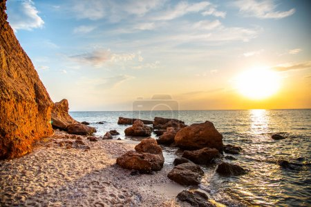 Photo for Sea landscape at the summer in Greece - Royalty Free Image