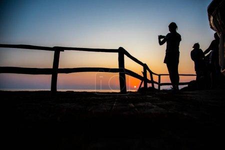 Photo for Amazing landscape at the sunset - Royalty Free Image