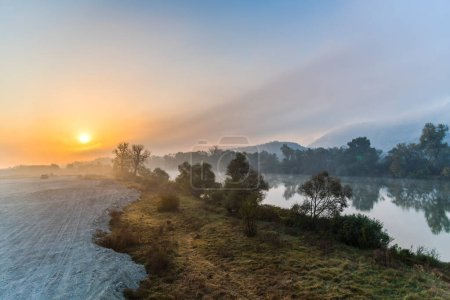 Photo for Sunrise by the river - Royalty Free Image