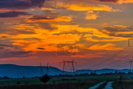 Photo for Clouds at the sunset - Royalty Free Image