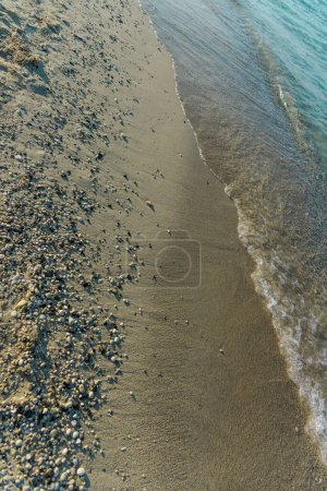 Photo for Sea wave on the beach - Royalty Free Image