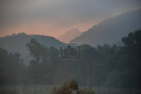 Photo for Landscape at the sunset - Royalty Free Image