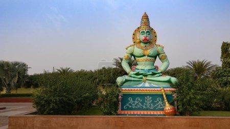 Lord Hanuman statue in Tamil