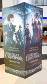 KUALA LUMPUR, MALAYSIA - NOVEMBER 9, 2018: Fantastic Beasts: The Crimes of Grindelwald movie poster