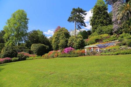 Photo pour Vue sur le jardin de la Villa Carlotta - image libre de droit