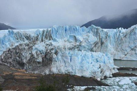 Photo pour Glacier Perito Moreno en Patagonie - image libre de droit