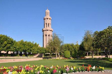 Photo pour Sultan Qaboos Grande Mosquée Muscat, Oman - image libre de droit